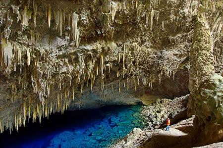 Blue Lake Cave (Brazil)